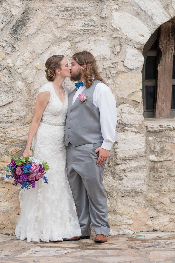 Bride and Groom Downtown San Antonio | San Antonio Wedding Photography