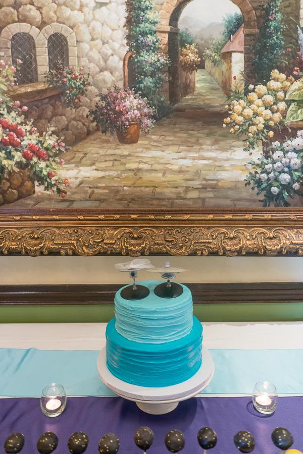 Cake at Wedding Reception | San Antonio Wedding Photography