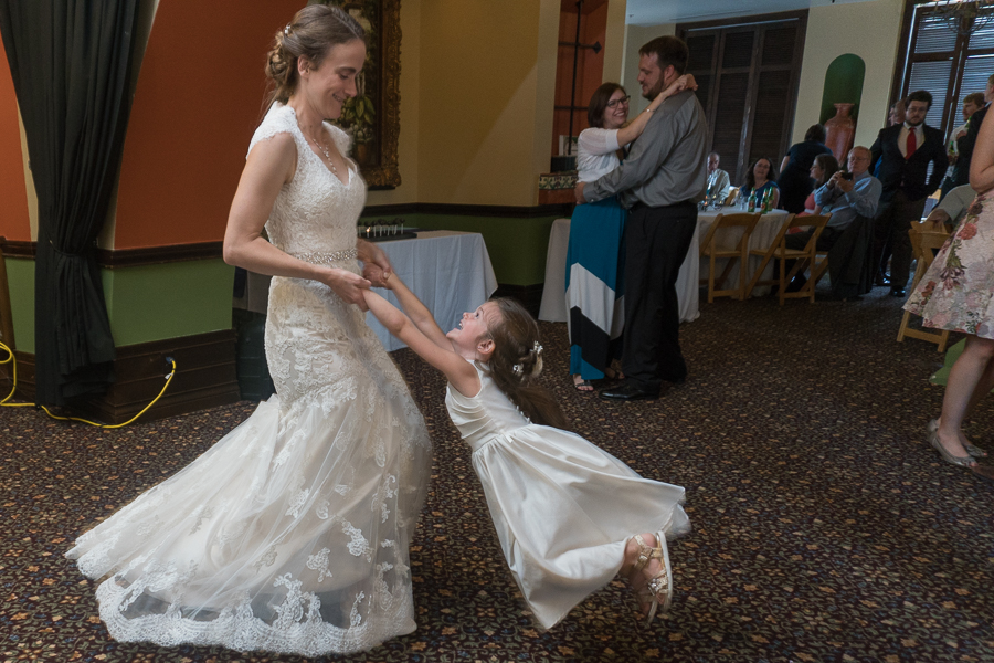 Wedding Reception at Rita's on the River | San Antonio Wedding Photography
