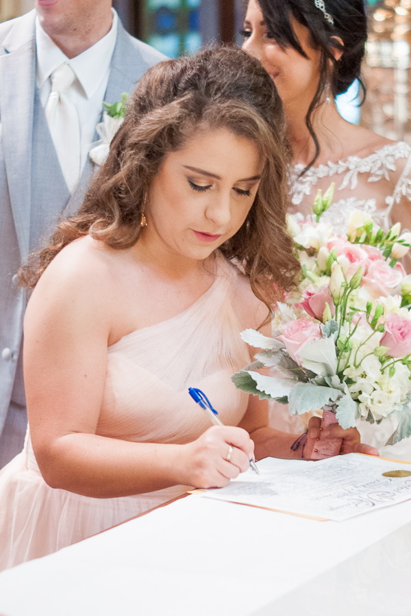 Signing Marriage License | San Antonio Wedding Photographer