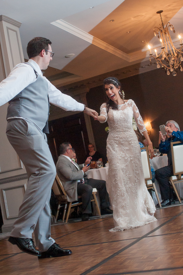 Bride and Groom First Dance at St. Anthony Hotel | San Antonio Wedding Photographer