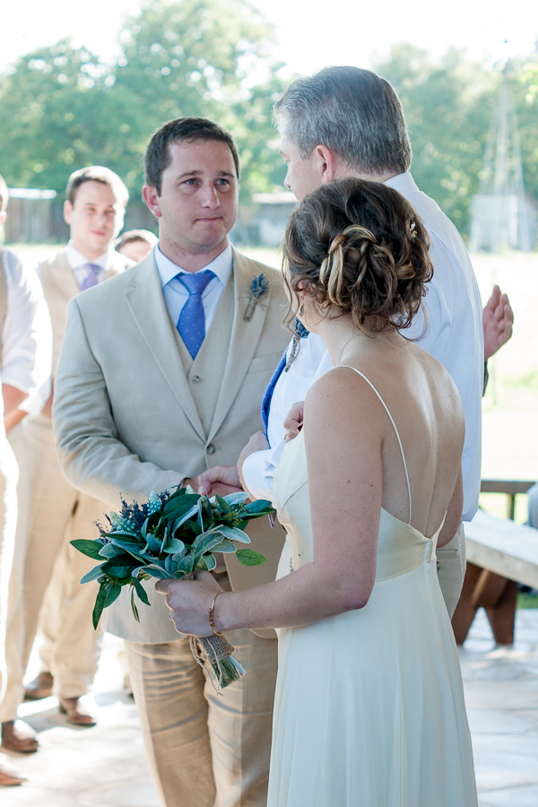 Wedding Ceremony at Gruene Estate | San Antonio Wedding Photographer