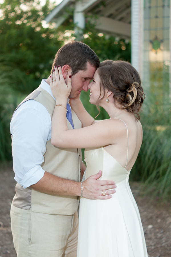 Bride and Groom at Gruene Estate | San Antonio Wedding Photographer