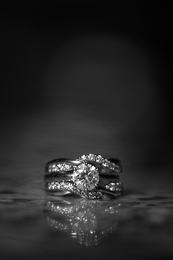 Wedding Ring Set | San Antonio Wedding Photographer