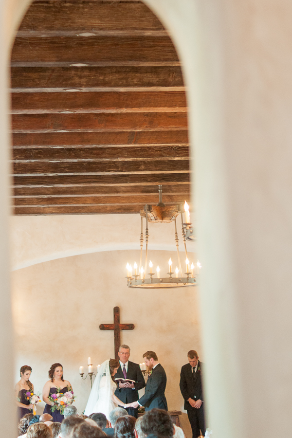 Wedding Ceremony at Lost Mission | San Antonio Wedding Photographer