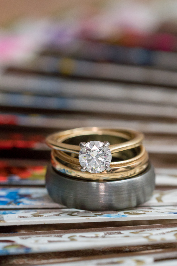 Engagement and Wedding Rings  | San Antonio Wedding Photographer