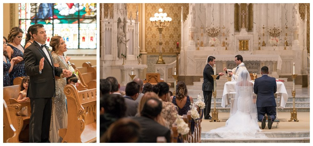 Wedding in the Sacred Heart Chapel at Our Lady of the Lake University | San Antonio Wedding Photographer