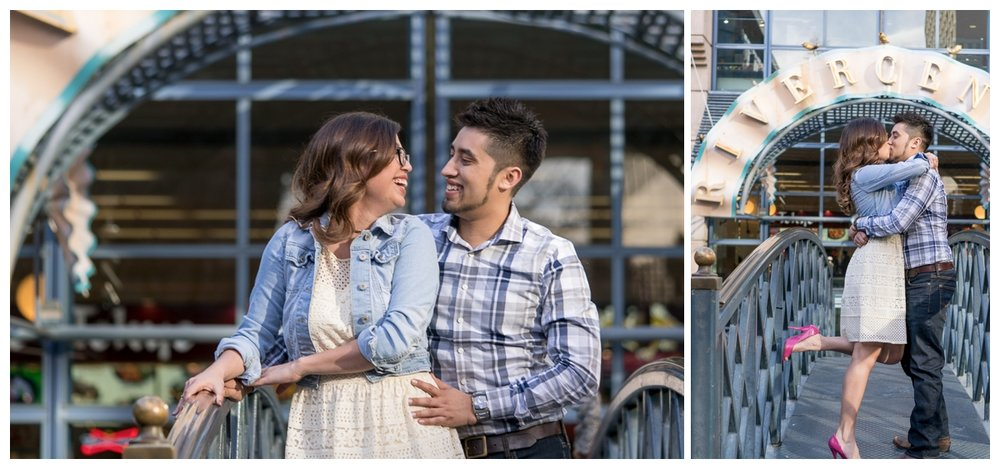 Downtown San Antonio Riverwalk Engagement Session | San Antonio Wedding Photographer