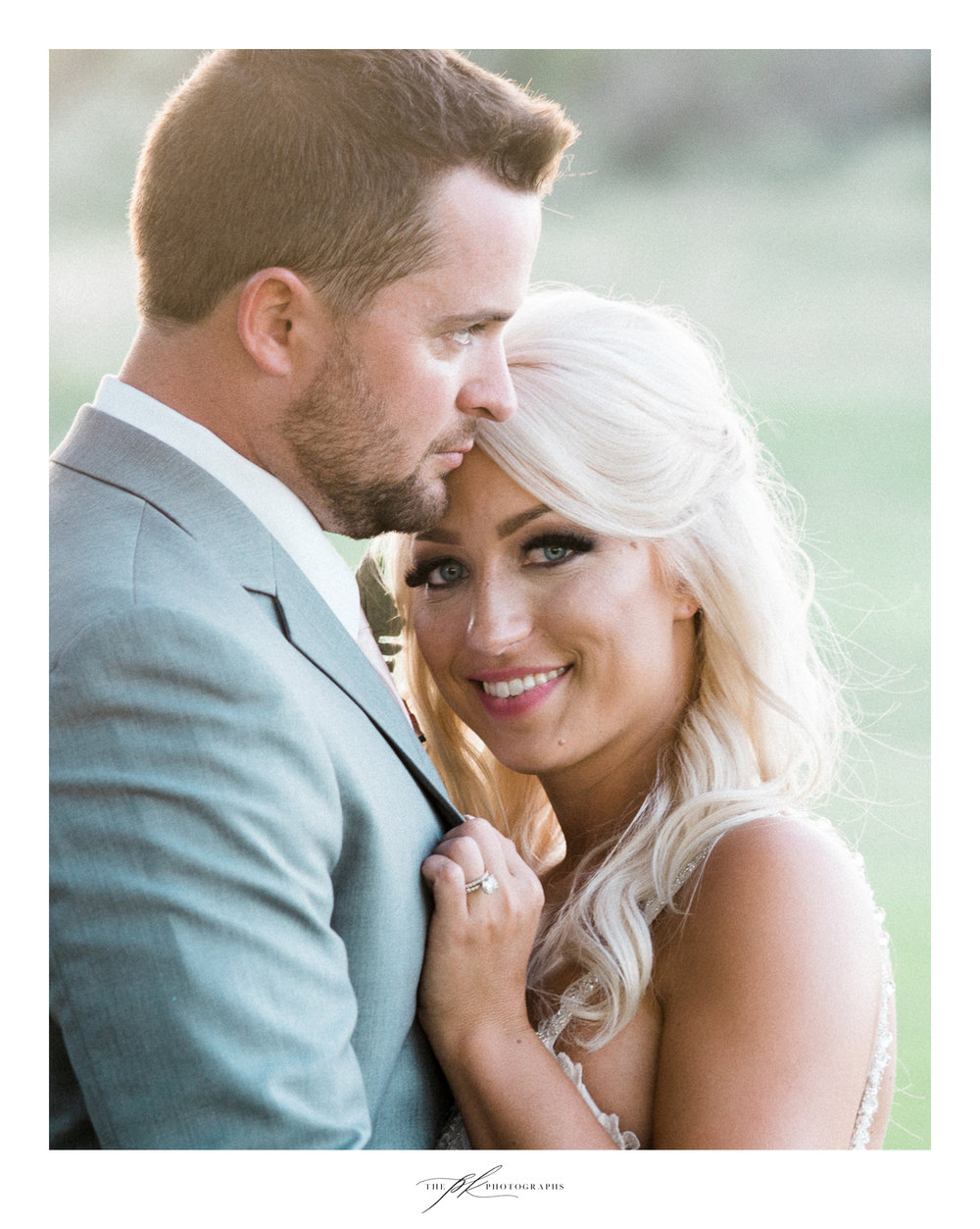 Such a beautiful couple during portrait time. The Lodge At Country Inn Cottages | San Antonio Wedding Photographer
