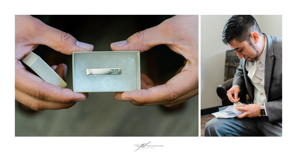 Bride's gift for her groom at Magnolia Halle in San Antonio, Texas - Photographed by The PK Photographs
