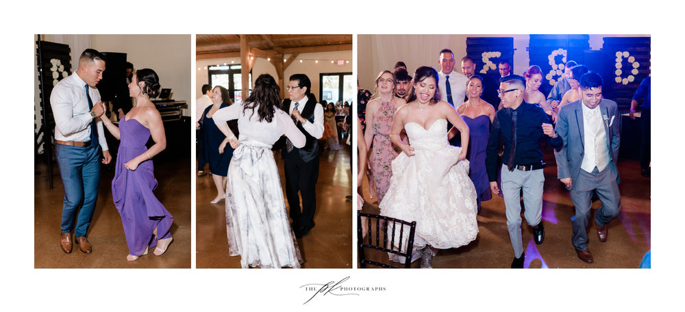 Wedding Dancefloor at Magnolia Halle in San Antonio, Texas - Photographed by The PK Photographs