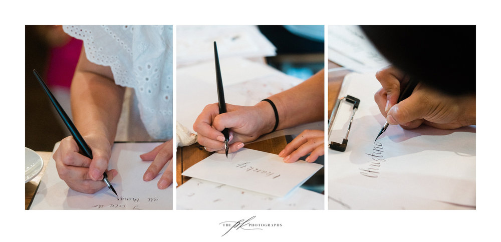 CalliRosa's San Antonio calligraphy workshop