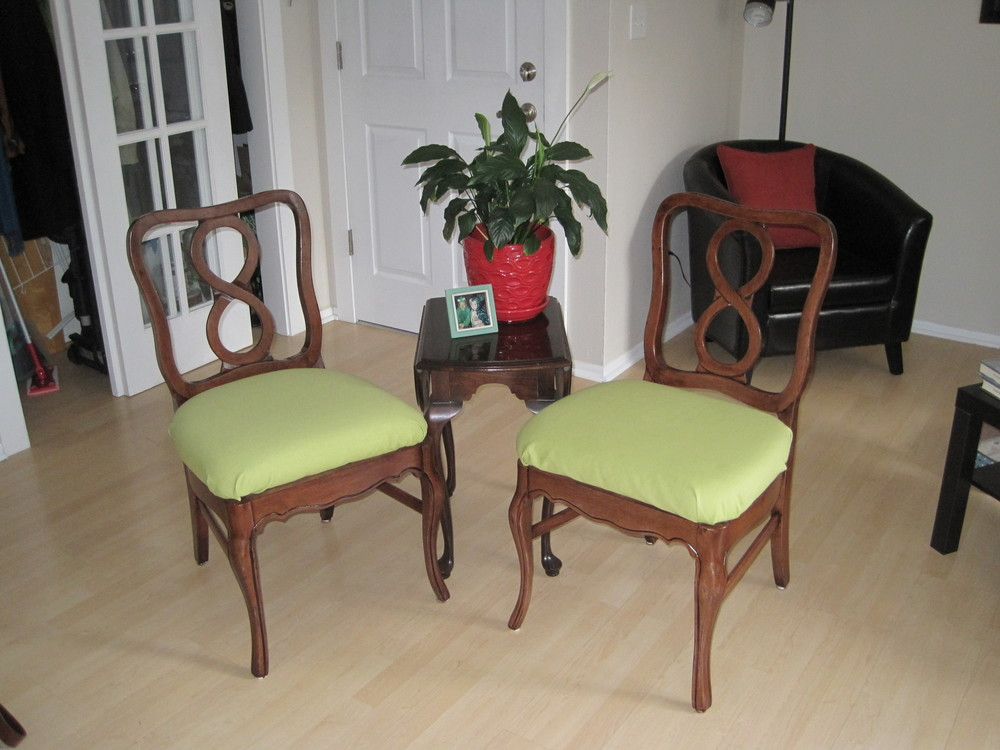 Infinity Chairs After