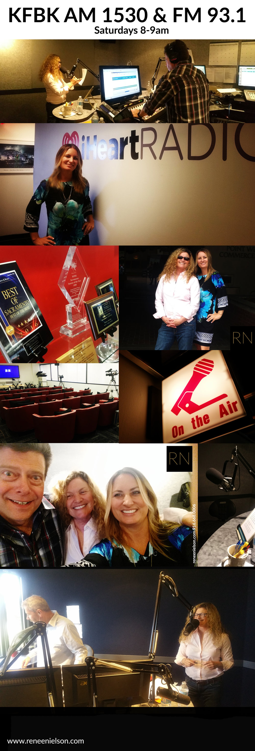 In the iHeart studio to tape and to watch an INSPIRING Roni Deutch show dedicated to our Veterans.