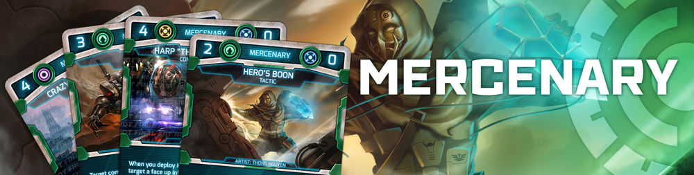 Click to view the Mercenary Card Gallery