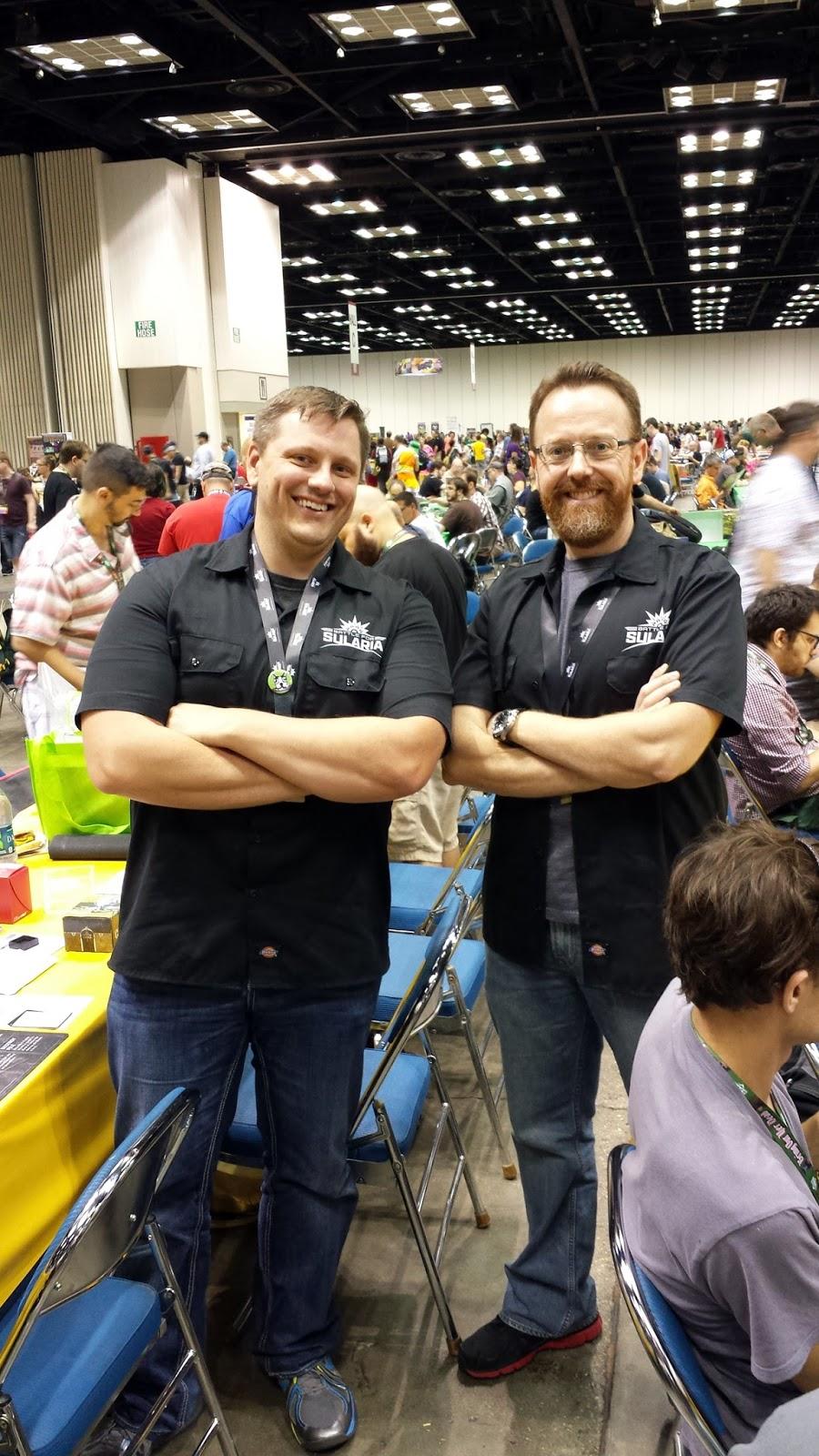 President Jesse Bergman and Vice-president John Kimmel