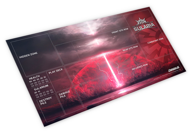 Sularium Tactical Assault Beam playmat