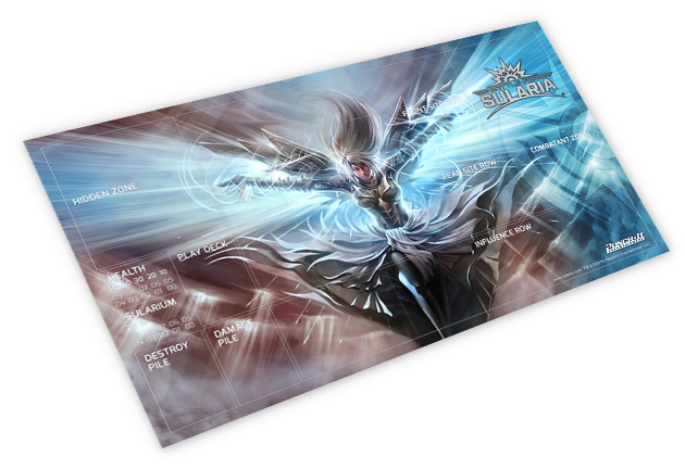 Cloud Falcon playmat