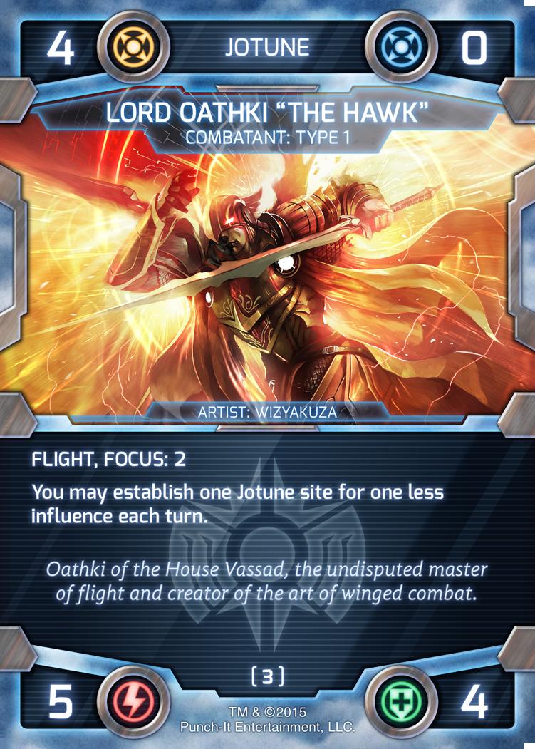 Oathki - Jotune Combatant Kickstarter Promo Card