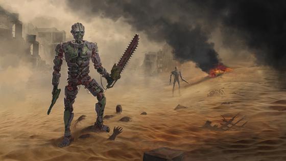 Spartan Terminator | Art by Filip Dudek