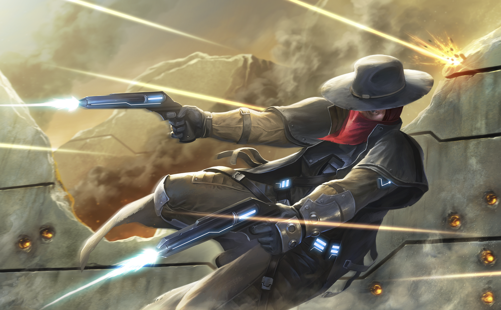 """Gunslinger"" Johnny Cache 