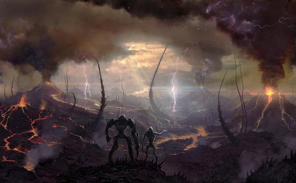 Ashfall Plains by Filip Dudek