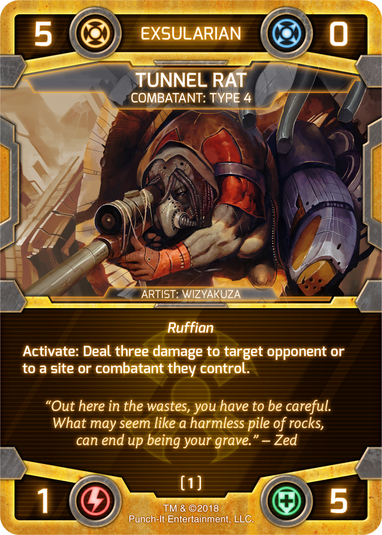 Tunnel Rat from The Good, The Bad, and The Savage Faction Pack Expansion