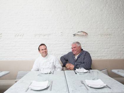 [Salt Air David Reiss and Chef Greg Daniels; Photo credit: la.eater.com]