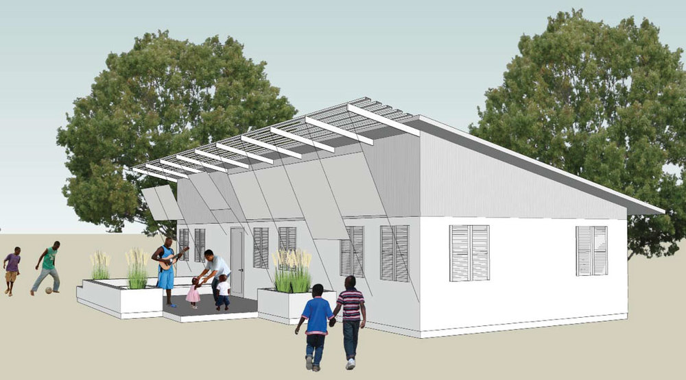Family House and Abandoned Baby Center - Preliminary Design