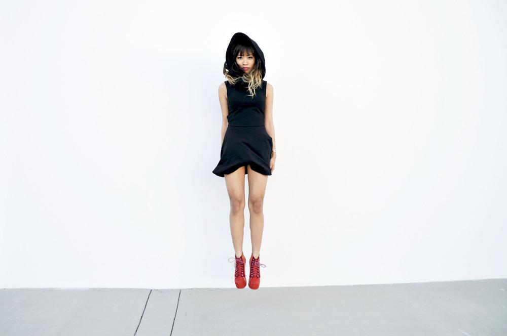 NYE_Black_Dress_Groceries_1