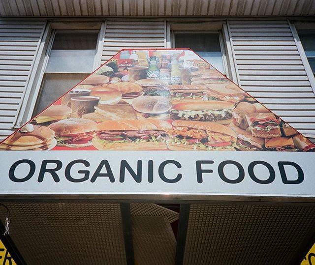 Organic food pyramid