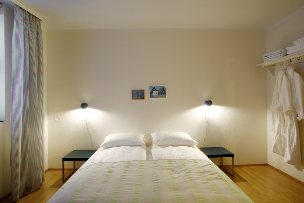 Double room. All our rooms are newly renovated, bright and comfortable with a beautiful nature view.