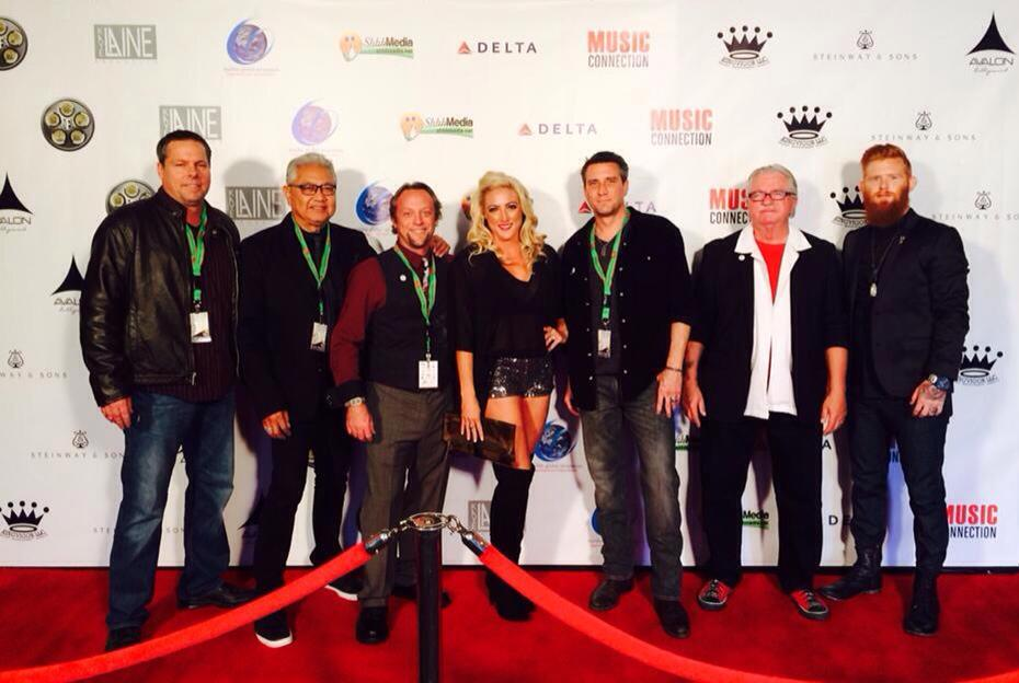 Phoenix Patriot Band at the LA Music Awards