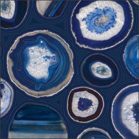 Blue Geodes
