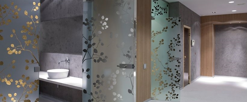 custom glass sliding doors - Decorative Glass