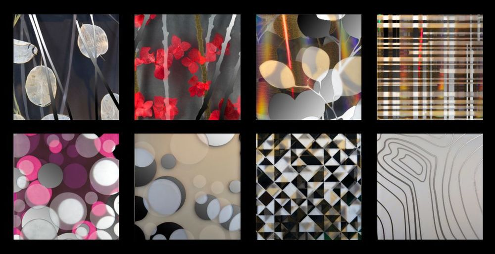 architectural decorative glass effects