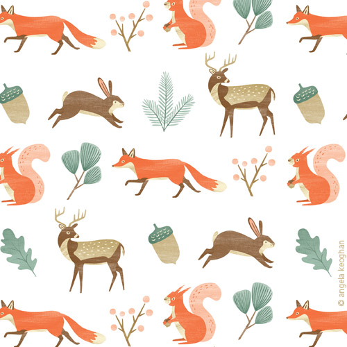 Detail - Woodland Festive Wrap for Your Home & Garden magazine NZ.