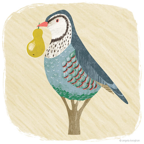 'Partridge In a Pear Tree' - Christmas Card for TGT Legal