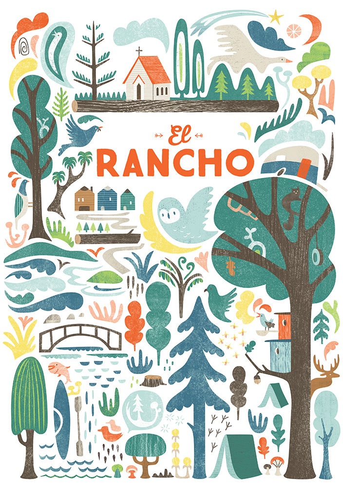 'El Rancho'3x3 Pro Show - Merit Award