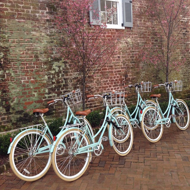 The best way to #explorecharleston is by a custom #zerogeorge bicycle. By @currypollo.jpg