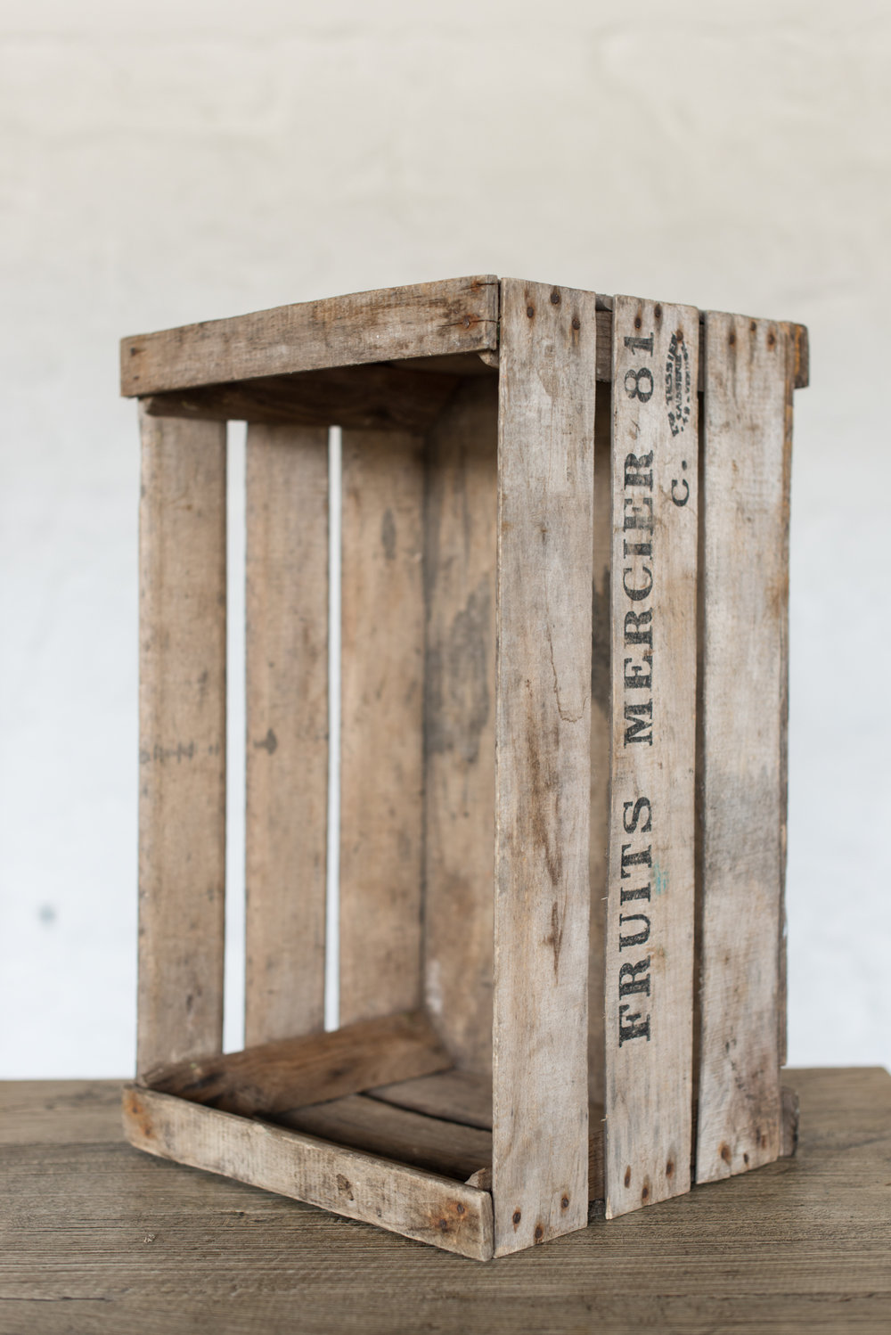 French Fruit Crates