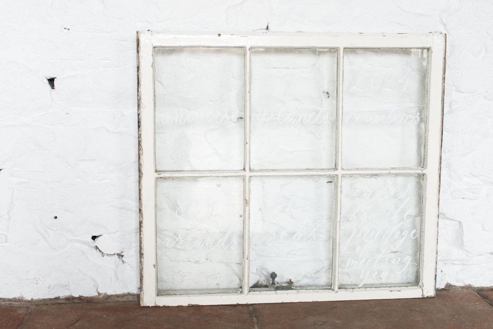 Reclaimed Georgian Window