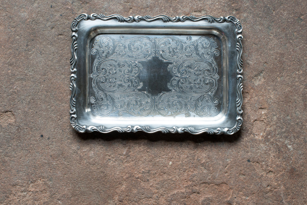 Silver Tray (Sml)