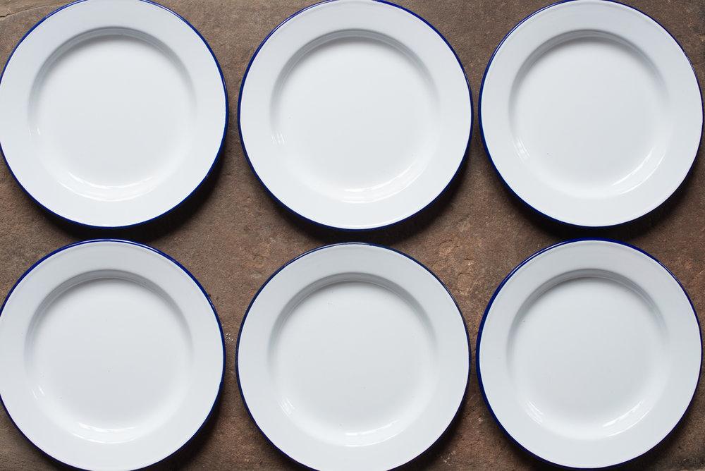 FalconEnamelware Plates (Main Course//Starter)