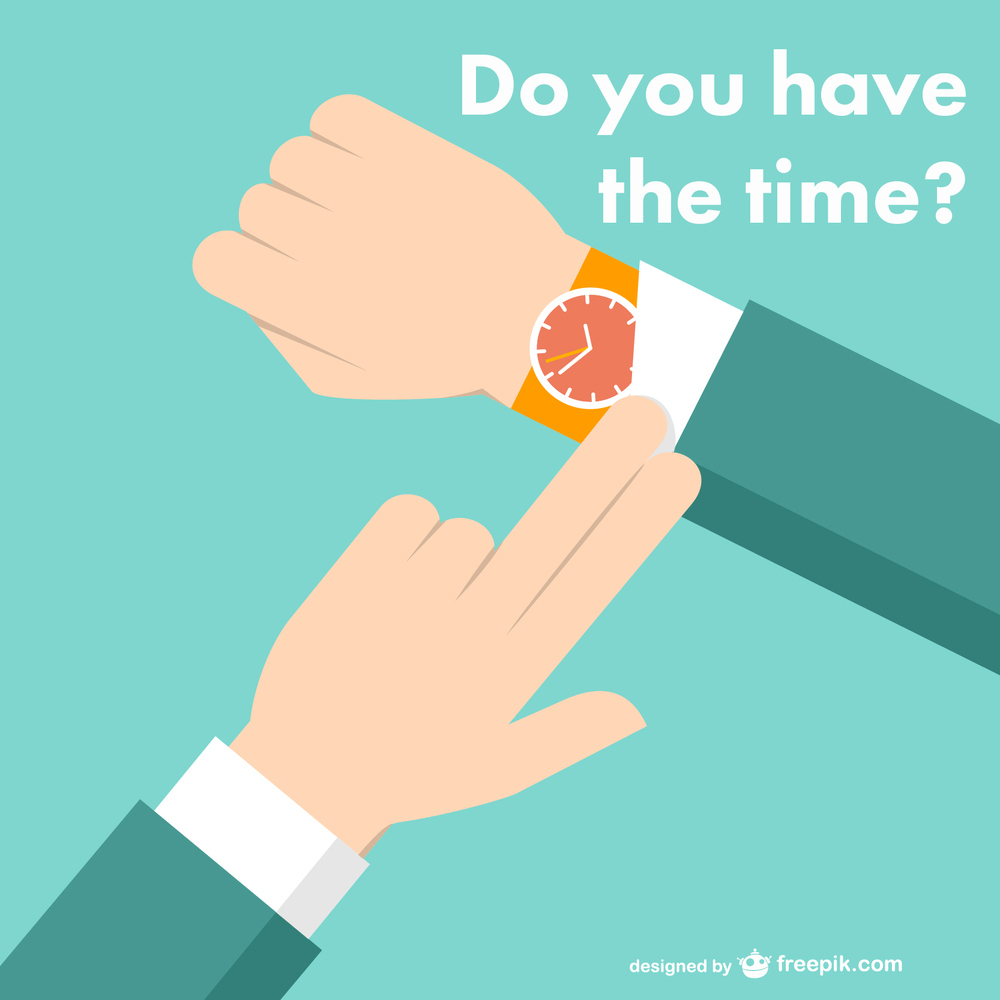 do you have time time