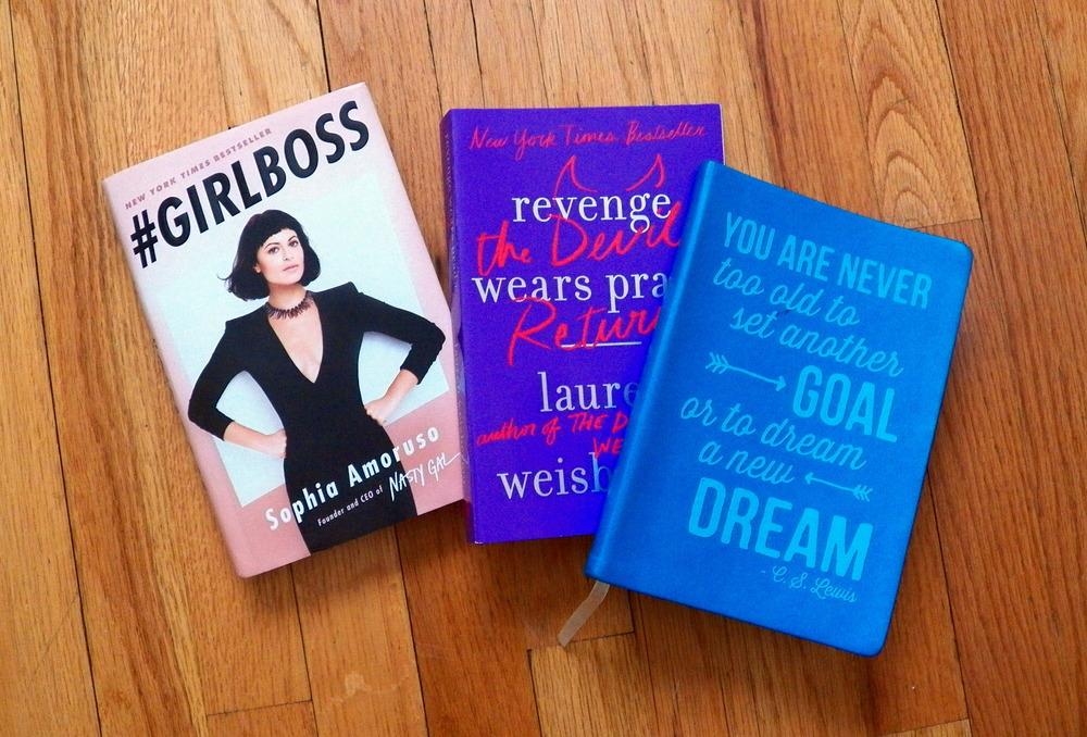 #GirlBoss by Sophia Amoruso /Revenge Wears Prada: The Devil Returns by Lauren Weisberger