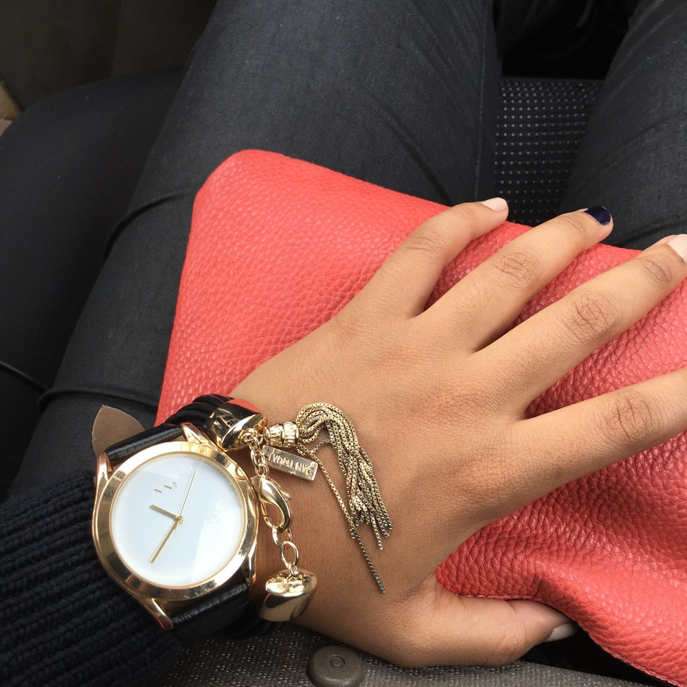 Watch: Forever 21 | Bracelet: Lydell NYC