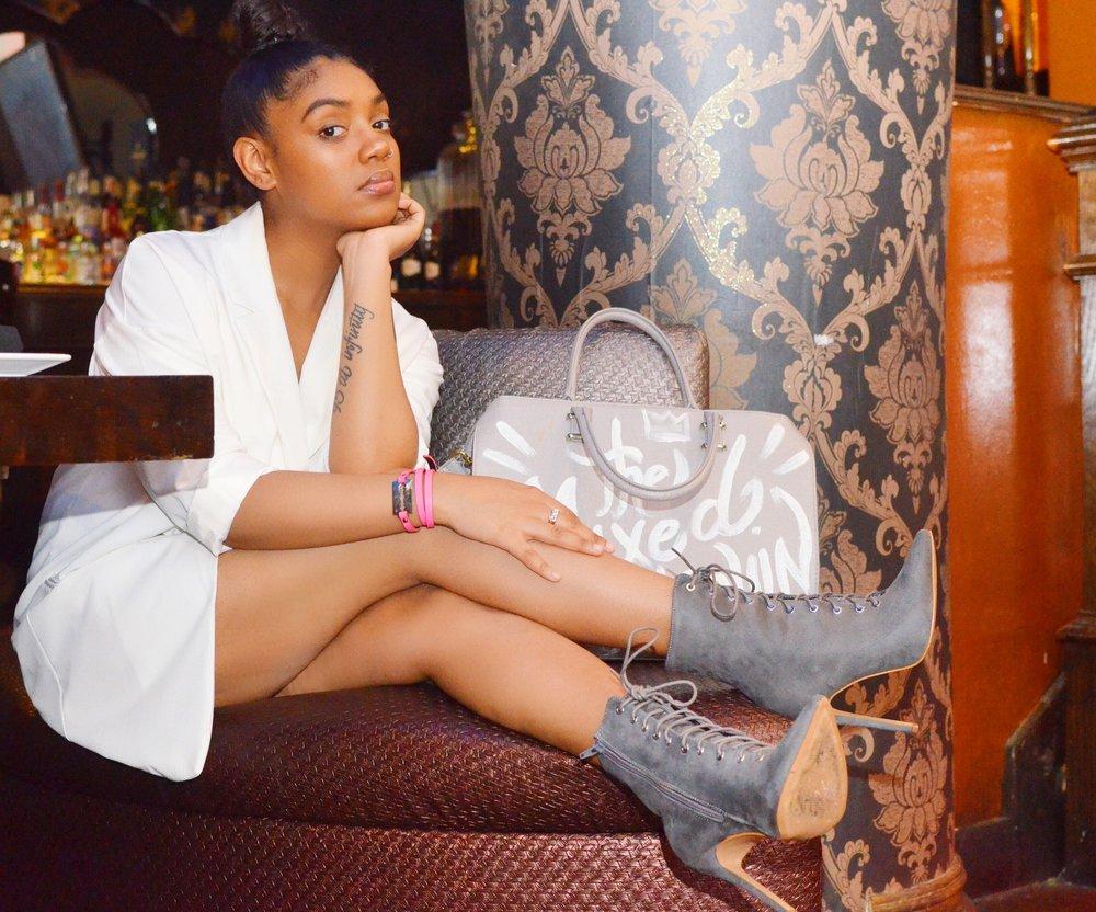 Shoes: LolaShoetique | Bracelet: Alexander McQueen