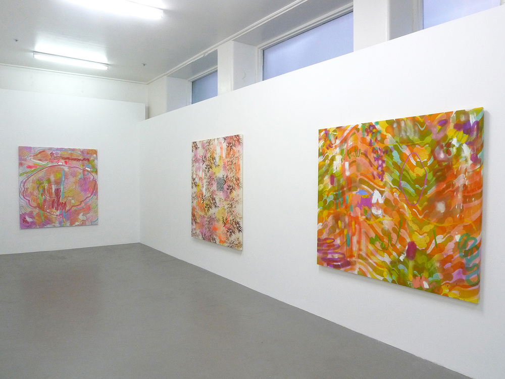 Feel Flows installation view