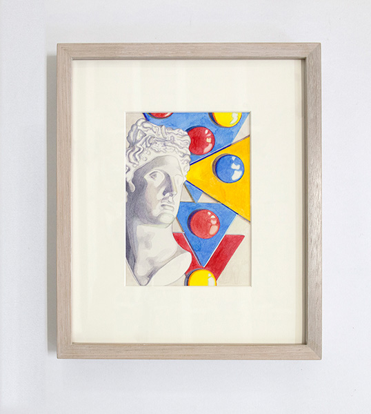 kidd_2014_Face-with-shapes_watercoluor-on-paper_18-x-12cm_-framed-32-x-26cm-.jpg